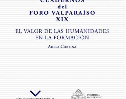 Cuaderno XIX - Adela Cortina. El valor de las humanidades en la formación