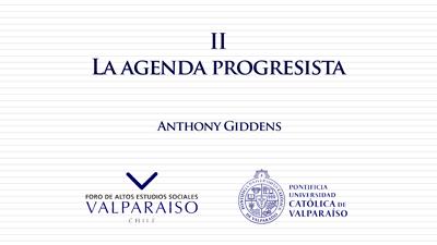 Cuaderno II - Anthony Giddens - La agenda progresista