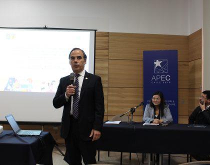 """Foro de Altos Estudios Sociales Valparaíso realizó lanzamiento de su Cuaderno XXI """"Desafíos de APEC"""""""