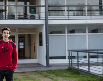 A los 21 años, Jerónimo ya tiene la clave para reemplazar los vasos de plásticos descartables