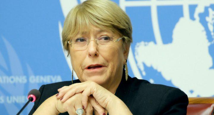 Michelle Bachelet exhorta al diálogo inmediato en Chile