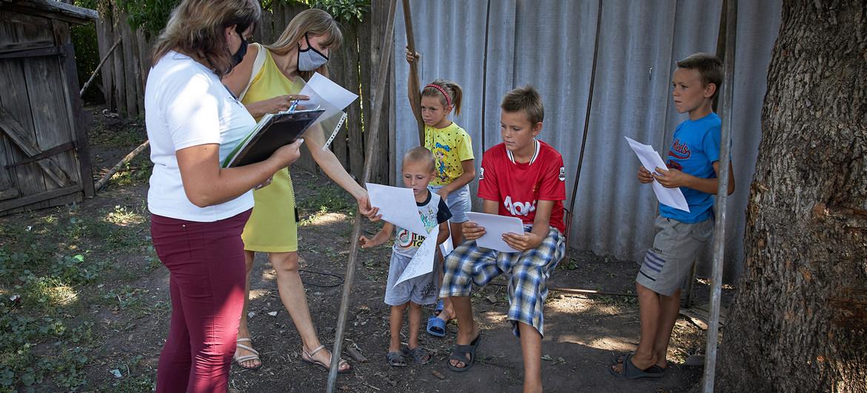 La irrupción del COVID-19 ha dejado a los niños sin protección frente a la violencia
