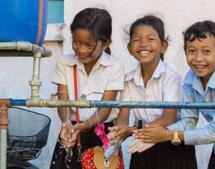 Más de 800 millones de niños no podían lavarse las manos en la escuela antes de la llegada del coronavirus